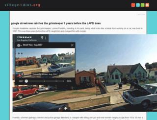 village-idiot.org screenshot