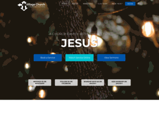 villagechurch.co.za screenshot