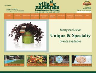 villagenurserieslc.com screenshot