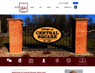 villageofcentralsquare-ny.us screenshot