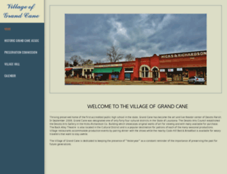 villageofgrandcane.com screenshot