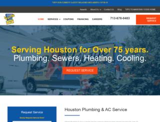villageplumbing.com screenshot
