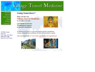 villagetravelmedicine.com screenshot