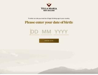 villamaria.co.nz screenshot