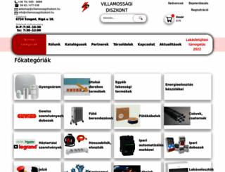villamossagidiszkont.hu screenshot