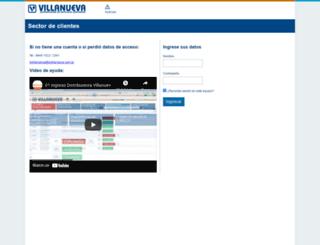 villanueva-clientes.com.ar screenshot