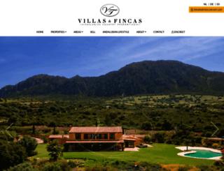 villasfincas.com screenshot