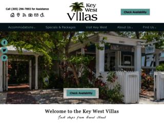 villaskeywest.com screenshot