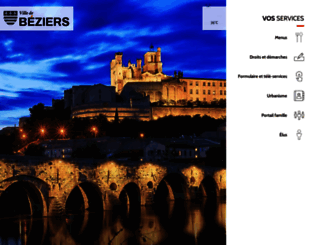 ville-beziers.fr screenshot