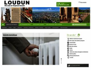 ville-loudun.fr screenshot