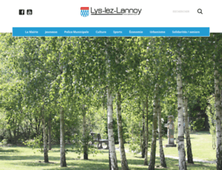 ville-lyslezlannoy.com screenshot