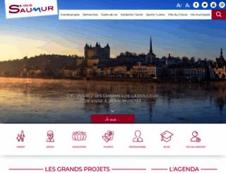 ville-saumur.fr screenshot