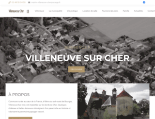 villeneuvesurcher.net screenshot