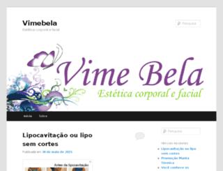 vimebela.com screenshot