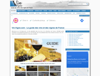 vin-vigne.com screenshot