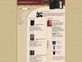 vinacotecas.com screenshot