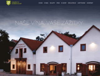 vinarstvi-dobrovolny.cz screenshot