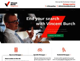 vincentburch.co.uk screenshot