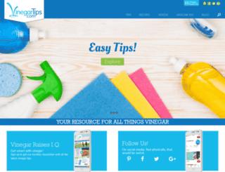 vinegartips.com screenshot