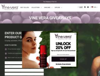 vineveragiveaway.com screenshot