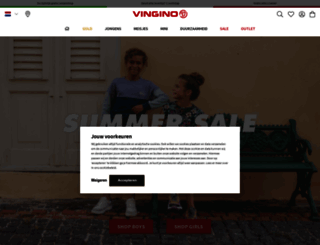 vingino.com screenshot
