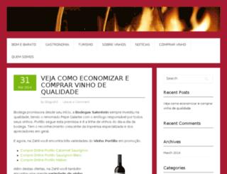 vinhoszahil.com.br screenshot