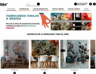 vinilos-stica.es screenshot