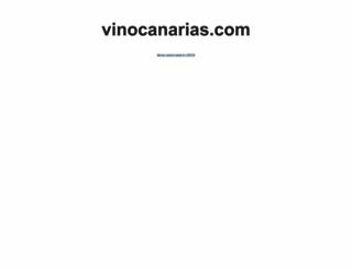vinocanarias.com screenshot