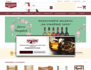 vinogalerie.cz screenshot