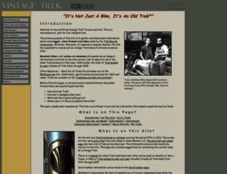 vintage-trek.com screenshot