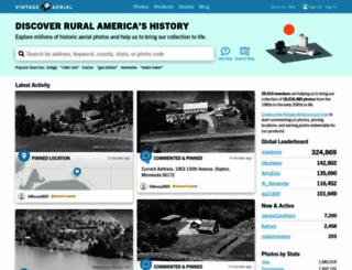 vintageaerial.com screenshot