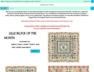 vintageandvogue.com screenshot