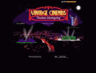 vintagecinemas.com screenshot