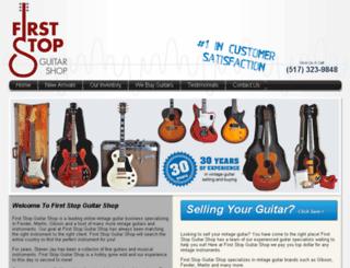 vintagecityguitars.com screenshot