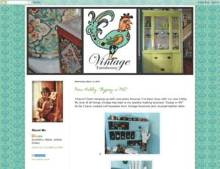 vintagefarmhouseme.blogspot.com screenshot