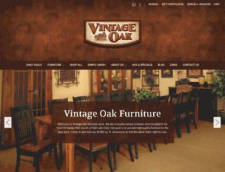 vintageoak.com screenshot