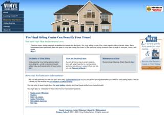 vinyl-siding-center.com screenshot