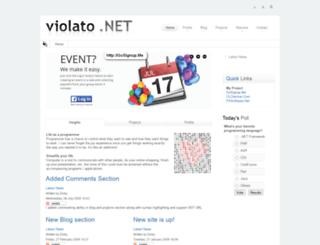 violato.net screenshot