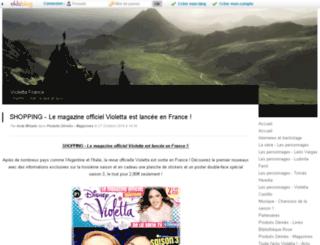 violettafrance.kazeo.com screenshot