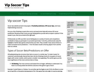 vip-tip.com screenshot