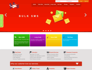 vip1.b2bsms.co.in screenshot