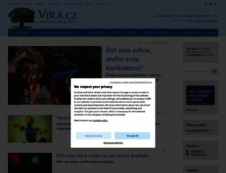 vira.cz screenshot