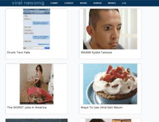 viral-newomg.com screenshot