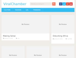 viralchamber.com screenshot