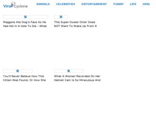 viralcyclone.com screenshot