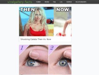 viralgallery-facts.com screenshot