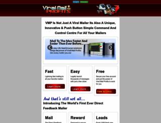 viralmailprofits.com screenshot