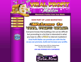 viralprofitmailer.com screenshot