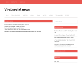 viralsocialnews.com screenshot