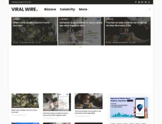 viralwire.in screenshot